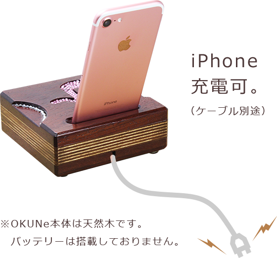 iPhone充電イメージ